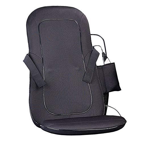 Monsterzeug Massageauflage für Sessel, Sitzauflage mit Wärmefunktion für Bürostuhl, Massagematte mit Sitzheizung fürs Auto