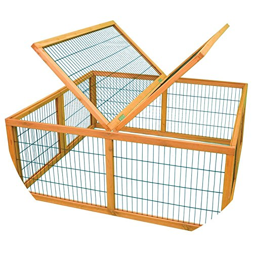 Ware Manufacturing Premium Plus Penthouse Playpen Cage for Rabbits and Small Pets
