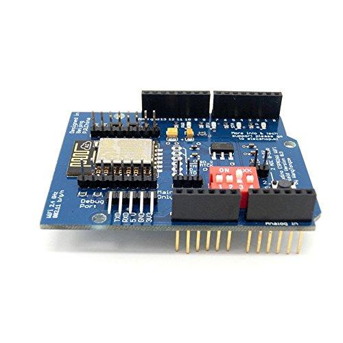 ARCELI ESP-12E ESP8266 UART WiFi Wireless-Schild für Arduino UNO R3