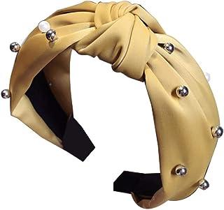 Bodhi2000 - Cerchietto per capelli da donna, con perline annodate