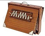 100% originale mk sardar, calcutta, shruti box in teakwood. 440hz. migliore al mondo! appositamente progettato per indofrance