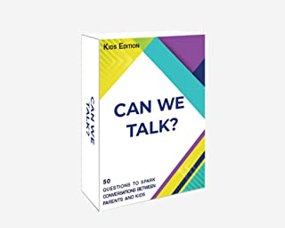 Words Well Said | Can We Talk Cards Kids Edition: 50 Questions to Increase Communication and Bonding Between Adults and Children
