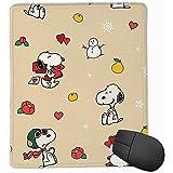Alfombrilla para ratón Perro Blanco con Fruta Alfombrilla para ratón 25x30CM L-L618