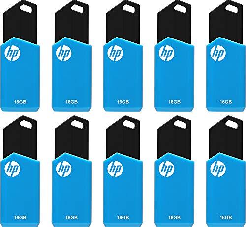 HP 16GB v150w USB 2.0 Flash Drive 10-Pack
