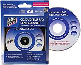Endust for Electronics, CD/DVD Lens Cleaner, Blu Ray, Great for desktop computers and..
