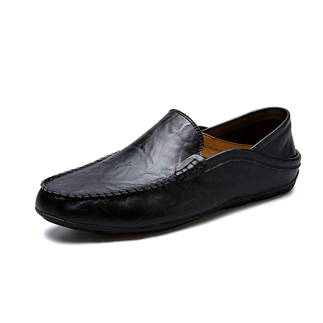 ミル周波数ナンセンスメンズ 靴 ドライビングシューズ ローファー スリッポン ビジネスシューズ 軽量 モカシン シューズ かかと踏める 革靴 紳士靴 カジュアル デッキシューズ 2way履き方 大きなサイズ