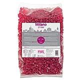 MILANO CITY WAX Cera premium para depilación 1 kg - perlas de cera - perlas de cera - granos de cera para depilación profesional sin tiras de vellón, depilación brasileña