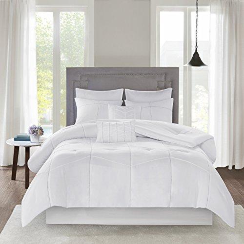 510 DESIGN Codee 8 Piece Comforter Set White Queen