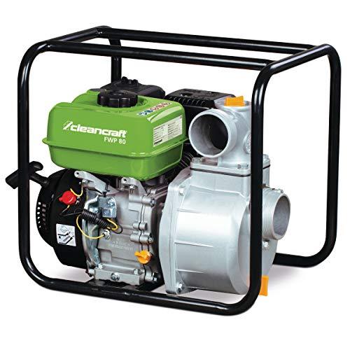Stormer Cleancraft FWP 80 zoetwaterpomp (benzine, 4-takt motor, debiet: 803 l/min, looptijd ca. 2,5 h) 7500080