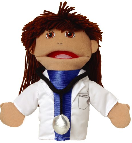 Marvel Education Pretend Play Puppetry Medical Doctor Hand Puppet