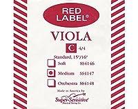 Super Sensitive 414-MINI Red Label Viola C String Nickel - Mini (12-Inch) - Orchestra Gauge [並行輸入品]