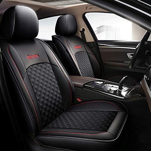 Chemu - Juego de fundas de asiento universales de piel para Peugeot 307 308 407 508 508sw 4007 4008 Bipper
