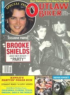 Outlaw Biker Magazine - November 1987: Brooke Shields Biker Party, Naked Biker Chicks, and More!