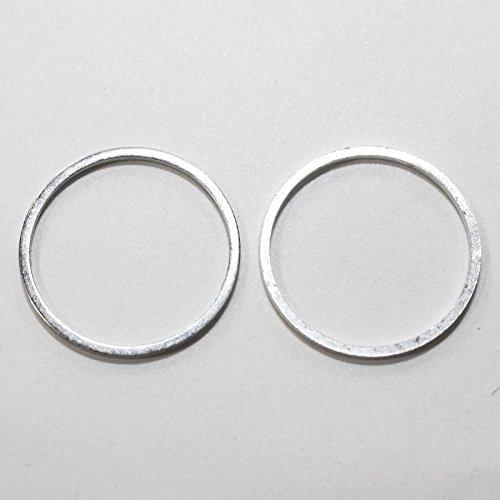 2 Stück Reduzierring von 22,2 mm auf 20 mm Ersatzring für Kreissägeblatt