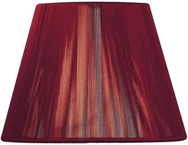 Inspired Mantra - Silk String - Pantalla de hilo Vino tinto 190, 300 mm x 195 mm