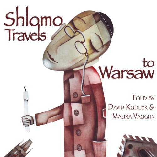 Shlomo Travels to Warsaw audiobook cover art