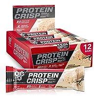 送料無料!シンサ6 BSN プロテインバー プロテインクリスプ バラエティ パック 6種類×1 計6本 (BSN Syxtha-6 protein crisp variety pack 6Bars)