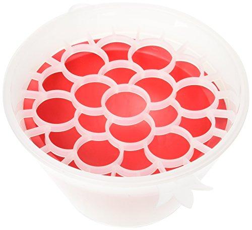 Miriam Shoham Ltd - Strumento di rimozione Shoham Melograno Arils, realizzato in Isreal, senza BPA, 15,5 x 18,5 cm, colore: Rosso