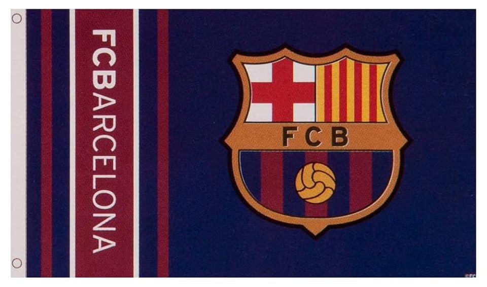 一瞬マンハッタン合理的FCBarcelona(FCバルセロナ) FCバルセロナ フラッグ WM 152×91cm