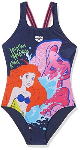 ARENA Mädchen 246 Badeanzug, Türkis (Ariel Disney), 140 cm (Herstellergröße :10)