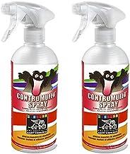 Professionele anti-schimmel spray, milieuvriendelijk, elimineert schimmel, algenschimmel, 500 ml (2 x 500 ml)