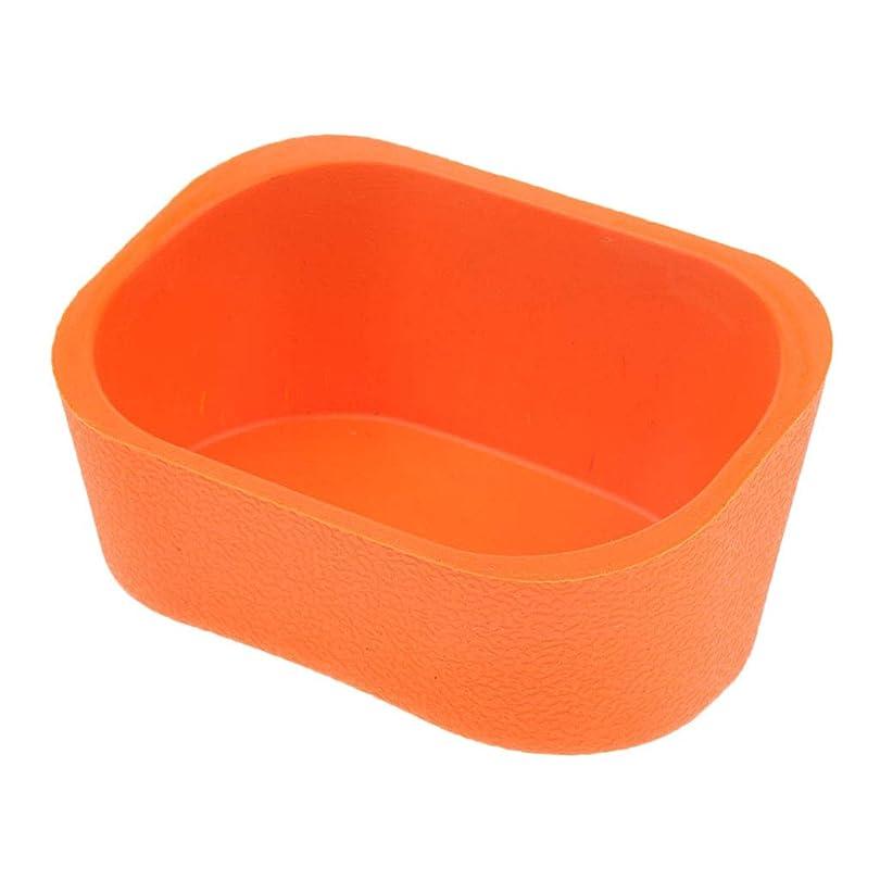 誰か苦しむ行き当たりばったりBaoblaze シャンプーボウル ネックレス クッション ピロー ヘアサロン ソフト シリコンゲル 5色選べ - オレンジ