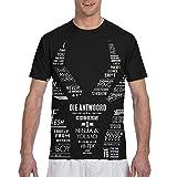 Maichenxuan Die Antwoord Logo Hombres 3D Impreso Doble Cara Elegante Camiseta