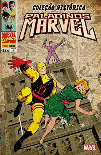 Paladinos Marvel - Volume 1. Coleção Histórica