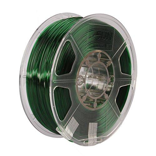 eSUN PETG Filamento, verde, 1,55 kg