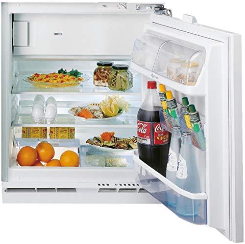 Bauknecht KSU 8GF1 Unterbau-Kühlschrank mit Gefrierfach (Nische 82) / Gesamtnutzinhalt: 126 Liter/Abtauautomatik im Kühlteil/Einfache Festtürmontage SUPERSETM0