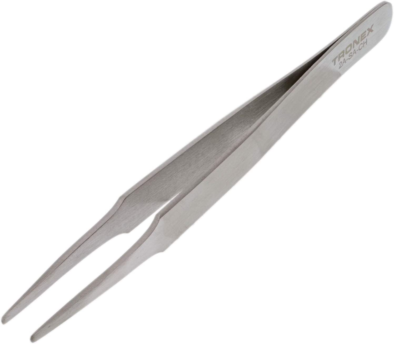 Tweezers – Tronex 2A SS Max 80% OFF Blunt Tips Tapered Brand Cheap Sale Venue • Straight