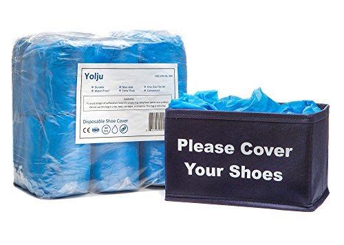 Yolju 300 Pack Disposable Shoe Covers with a...