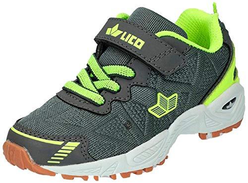 Lico Flori VS Multisport Indoor Schuhe, Blau (ANTHRAZIT/Lemon ANTHRAZIT/Lemon), 41 EU
