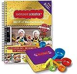 Kinderleichte Becherküche - BEST of Becherküche: Back- und Kochbuch inkl. 5-teiliges Messbecher-Set & dekorativer Kekdsdose