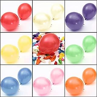 100pcs 10'' Colorful Air Latex Balloon Wedding Birthday Party (Mixed Color)