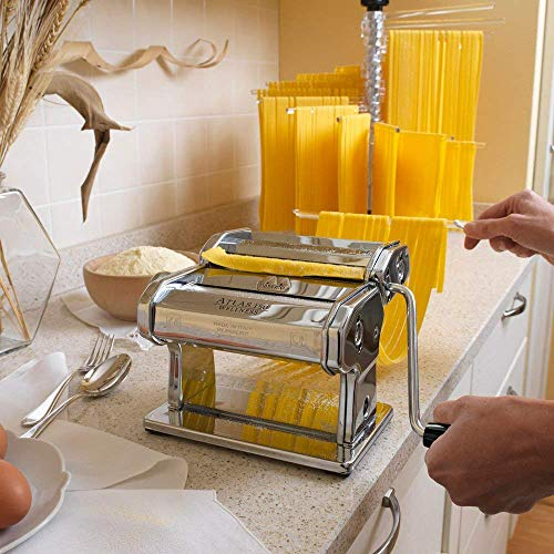 Smile Manual Stainless Steel Lasagna Tagliatelle Fettuccine Spaghetti Pasta Noodle Maker Machine