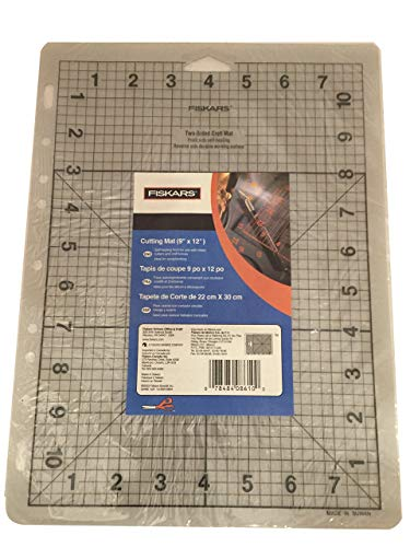 Fiskars ShapeCutter Mat 23x30 cm A4, Self Healing on Front, Cutting Resistance, 1003847