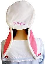 Sweet Lolita Beret Cap for Women Winter Warm Rabbit Bunny Ears Hats Painter Hat