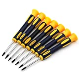 DLseego Torx Screwdriver Sets with T3 T4 T5 T6 T7 T8 T10 Star Screwdrivers, 7 In 1 for Phone/Computer Repairing