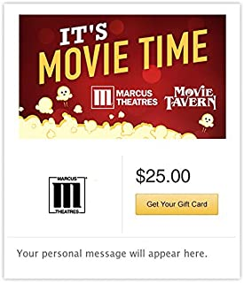 Marcus Theatres Gift Cards - Email Delivery