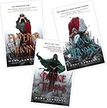 The Broken Empire Series By Mark Lawrence - 3 Book Set