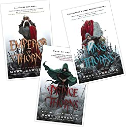 books covers for Prince of Thorns, books set in different countries