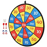 Redxiao Children Dart Board, no harm Dart Board Toy, Clear digital number sturdy hanging tab for home Outdoor Toy children (Style 9)