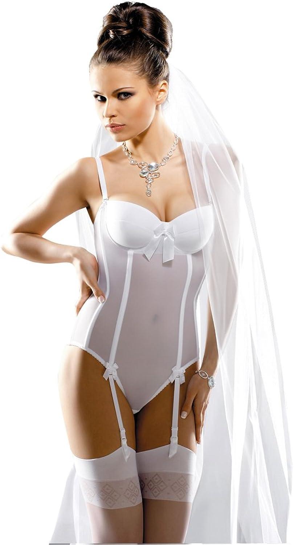 Gracya Naomi White Bridal Body GRA005