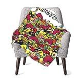 KINGG Angry-Bird Baby Blanket Soft Blanket Warm Blanket,Kids Blanket for Crib, Stroller 30x40 in