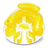 Poolmaster Water Pop Circular Swimming Pool Float Lounge, Yellow