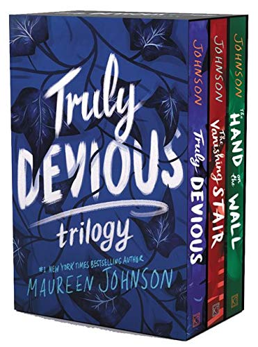Truly Devious 3-Book Box Set: Truly Devious, Vanishing Stair, and Hand on the Wall