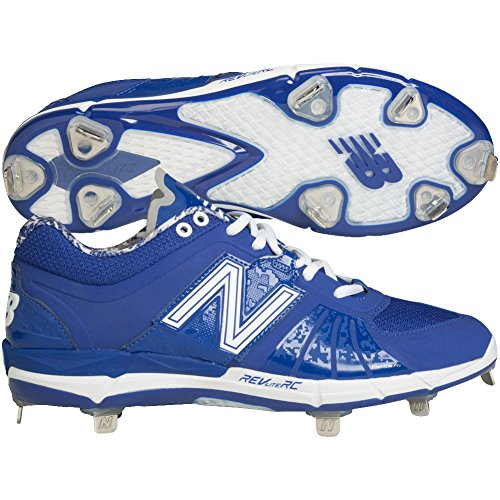 New Balance Mens L3000V2 Metal Low Baseball Cleats (14 D(M) US, Blue)