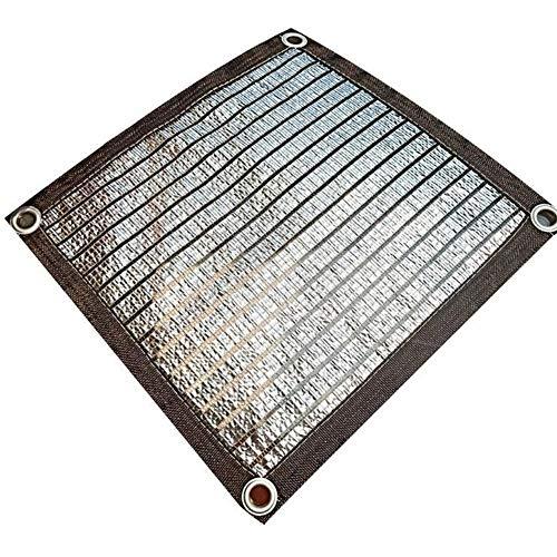 Malla Sombreo 75% Tela Resistente A Los Rayos UV Tela Transpirable Vela Toldo Parasol Al Aire Libre con Ojales Toldo Vela de Sombra LQHZWYC (Color : A, Size : 4x7m)