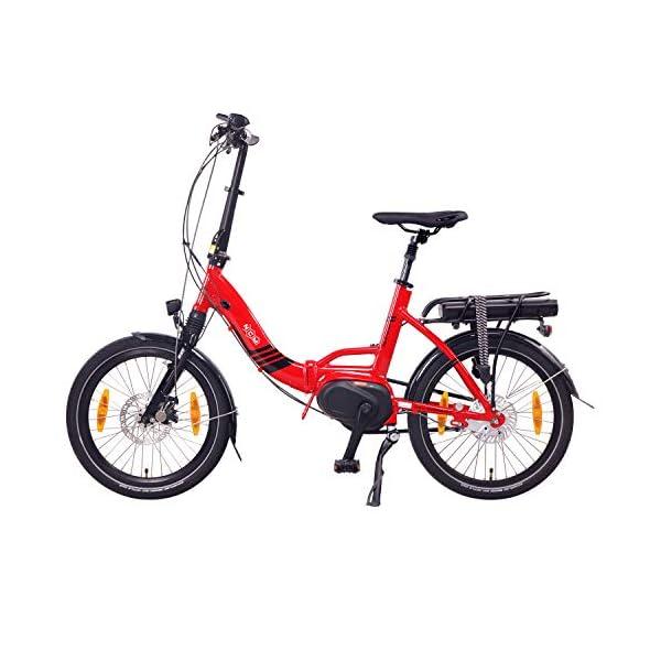 """51cH7u4mbjL. SS600  - NCM Paris MAX N8R / N8C E-Bike, E-Faltrad, 250W, 36V 14Ah 504Wh Akku, 20"""" Zoll"""